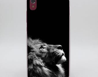 Lion iPhone Case Printed New Each Order Made in USA and Initials Added