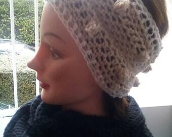 Headband ear warmer