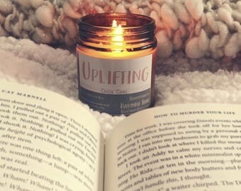 Uplifting | Crystal Candle