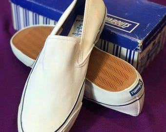 Vintage Schooners Deck Shoes USA (RARE) 1960~1970s Size 13
