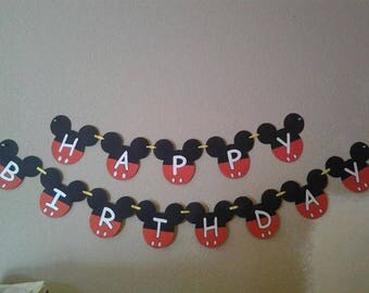 Mickey Mouse INSPIRED banner