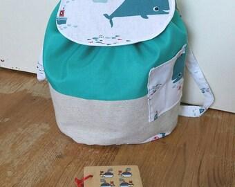 Bag child customizable adjustable straps