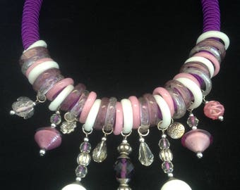 unique Murano necklace