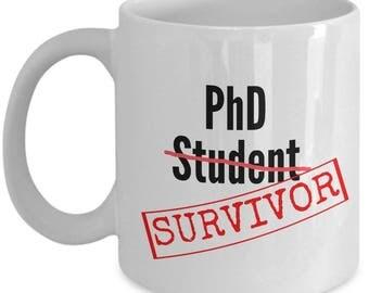 Phd Gift Ideas-Phd Graduation Gifts For Him-Funny Phd Gifts For Her-Doctorate Gifts- Phd Coffee Mug - Phd Student Gift - Phd Gag Gift