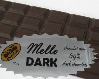Mello Dark Chocolate Bar