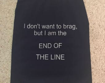 End of the line cape