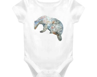 Badger Baby One-piece Bodysuit For New Baby Gift, Infant Onesie For Boy & Girl Great Gift For Baby Shower