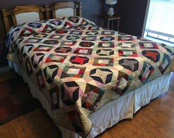 Queen quilt, full quilt, king quilt, double quilt