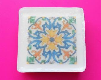 Portuguese Tile Handmade Graphic Soap - AP 2