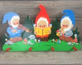 Grossmann Gnome Wall Hanging with Red Pegs