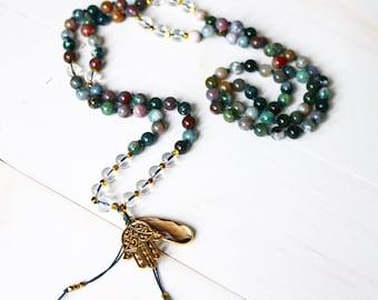 Gypsy of Brilliance Mala Necklace