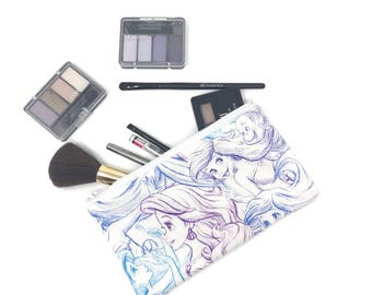 Ariel Cosmetic Bag, Makeup Brush Holder, Make-up Bag, Makeup Bag, Pencil Case, Makeup Organizer, Makeup Organizers, Disney