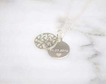 Name chain ~ tree of life ~ 925 Silver