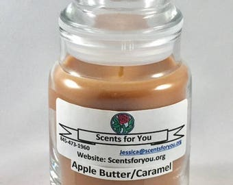 Apple Butter Caramel Small Candle