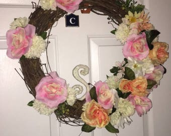 Custom Monogram Wreaths