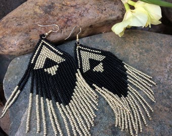 "Seed Bead Earrings ""Girls Night Out"""