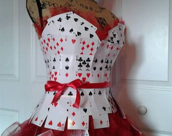 Queen of cards bodice and skirt