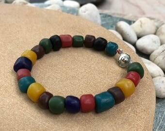 Ancient beads bracelet