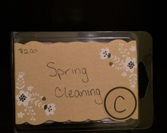 Spring Cleaning Wax Melts