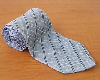 Vintage DAKS Mens Silk Necktie Casual Suit Neck Tie 087