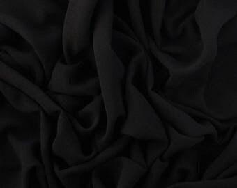 JET BLACK Crepe