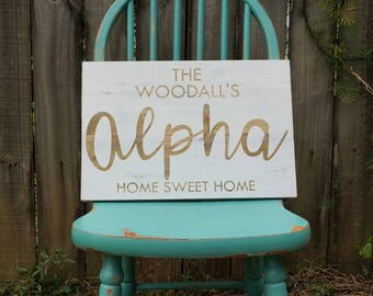 Street Name Wooden Sign | Last Name Wooden Sign | Home Sweet Home Wooden Sign | Rustic Wood Sign | Shabby Chic Sign | Farmhouse Sign | Gift
