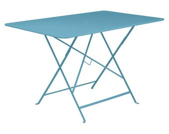 Bistro folding table - Fermob colorful outdoor patio table