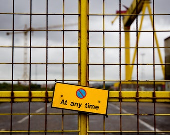Yellow Gate No Entry