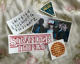 Stranger Things Sticker Pack of 5