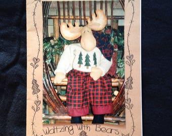 Moose Doll Sewing Pattern