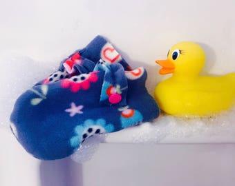 Bath Gloves - Flowers