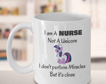 nursing student, nursing school, nursing graduation, school nurse, nurse appreciation, funny mug, gift for her, Christmas, unicorn mug