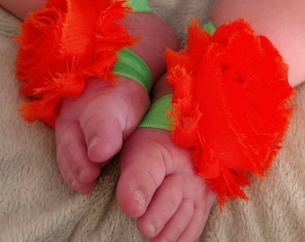 Pumpkin Baby Sandals