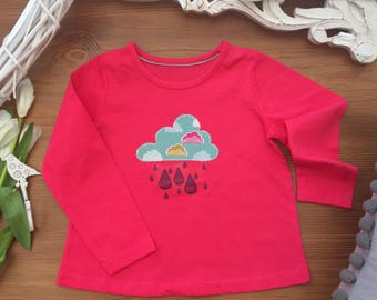 Girl's Raincloud Tshirt