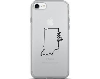 Indiana Roots - iPhone Case (iPhone 7/7 Plus, iPhone 8/8 Plus, iPhone X)