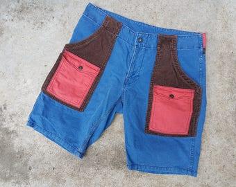 Hollywood ranch HR Market Blue Blue 6 pocket shorts japan