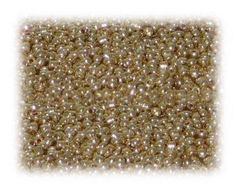 11/0 Rich Gold Metallic Glass Seed Beads, 1 oz. Bag