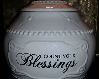 Count Your Blessings Home Decor