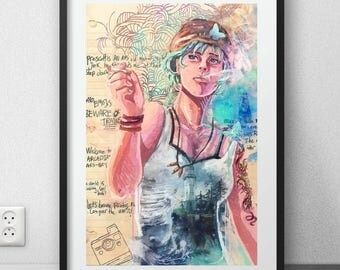 "Life is strange art print FANART (12 X 18 ""/ 6 X 9"")"