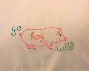 Hog Wild Kitchen Towel