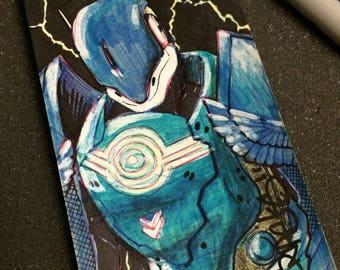 Striker Titan, Destiny post it note art