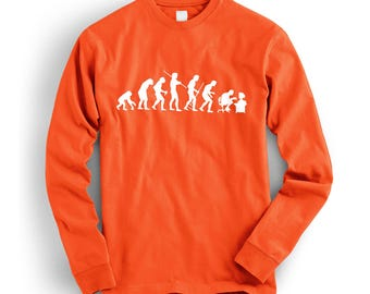 Evolution of Geek Cool Retro Sweatshirt