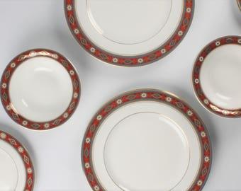 "Vintage Minton Dinner Set ""Cordoba"" - Bone China - Made in England"