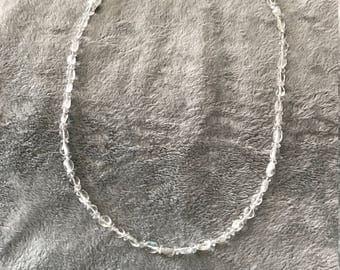 Lemon Quartz 22 inch Necklace