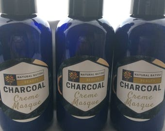 Organic Charcoal Creme Masque