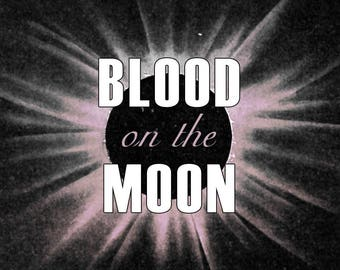Blood on the Moon | Roll-On Perfume Oil | Pine, leaves, frankincense, honey, blood, and patchouli