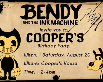 bendy and the ink machine scratch