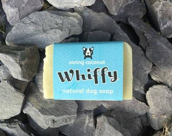 Whiffy Natural Dog Shampoo Bar - Condition & Shine