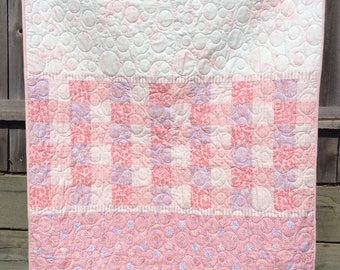 Handmade toddler /child girl quilt