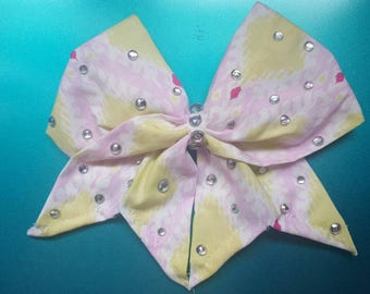 Layla hand sewn  Cheer Bow